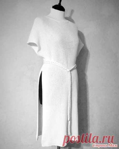 Жилет - туника - Машинное вязание - Страна Мам