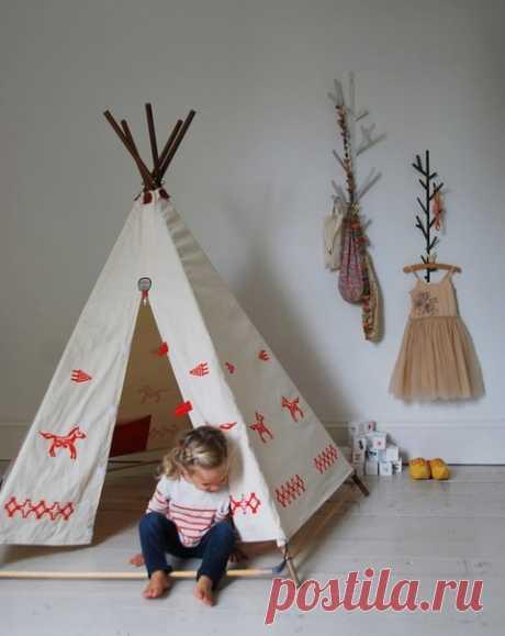 Идеи шалаша для детской своими руками
