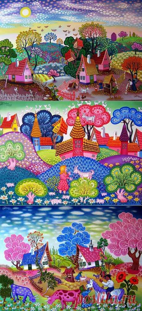 Волшебные миры от художника Ласло Кодай (20 работ)