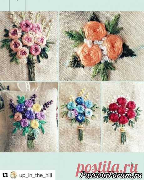 Embroidery. Ideas from the Internet. - record of the user of Olga202202 in the community Chat in category Interesting ideas for inspiration