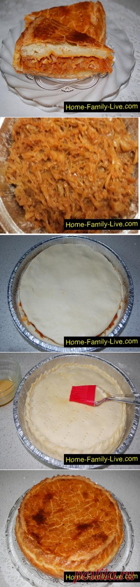 Пирог с капустой/Сайт с пошаговыми рецептами с фото для тех кто любит готовить