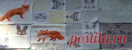 Как я сделала апгрейд детского одеяла 104*140. Часть 2, заключительная | Лоскуток к лоскутку | Яндекс Дзен