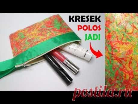 DAUR ULANG Kantong Plastik Amazing pouch from Plastic Waste ! No Sew ! Dompet plastik kresek bekas ! - YouTube