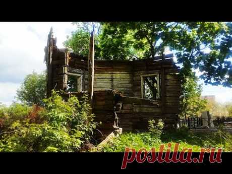 Старинная деревянная церковь - YouTube