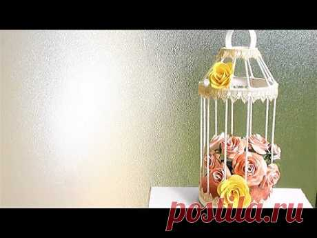 Декоративная Клетка в стиле Прованс / ЛЕГКО и Бюджетно - YouTube