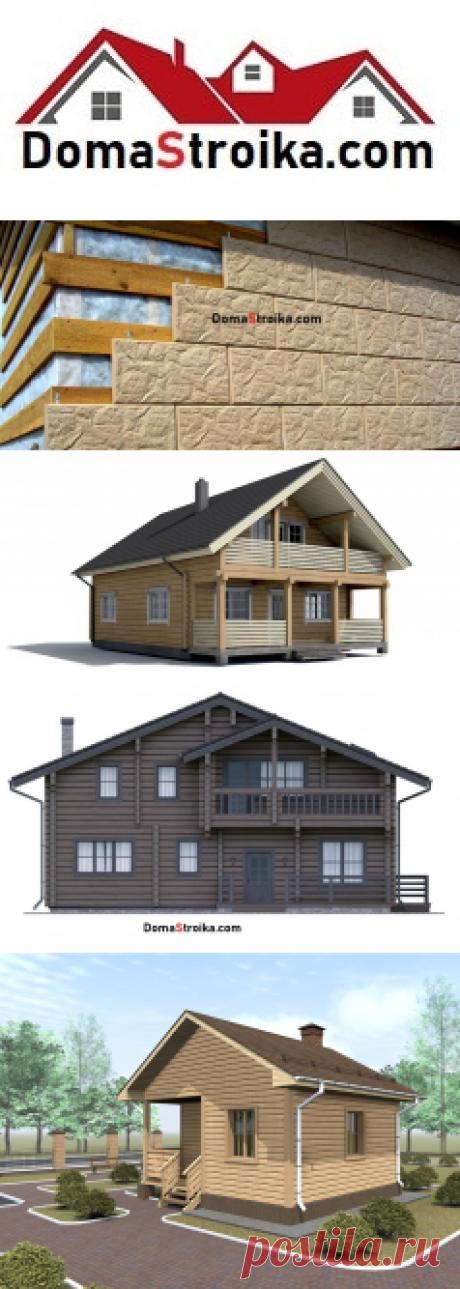 Отделка фасада деревянного дома ⋆ DomaStroika.com