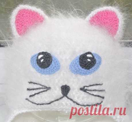 Шапочка - Котик