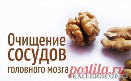 Очищение сосудов головного мозга | Калейдоскоп