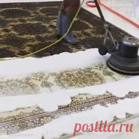 Carpet Cleaning Is So Satisfying