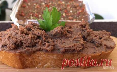 Обалденный домашний печеночный паштет - пошаговый рецепт с фото на Повар.ру