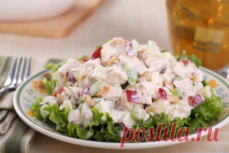 Рецепт на 8 Марта: как приготовить салат Вальдорф Такой салат очень легкий, весенний и свежий
