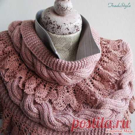 La bufanda-snud de Stefaniya - Tejemos juntos él-layn - el País de las Mamás