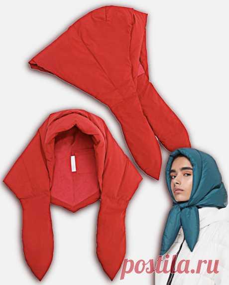 Косынка из плащёвки Модная одежда и дизайн интерьера своими руками