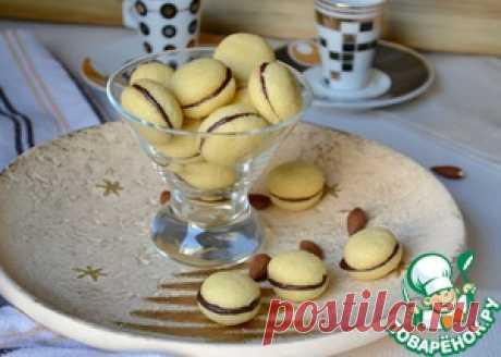 """Итальянское печенье """"Поцелуи дамы"""" - кулинарный рецепт"""