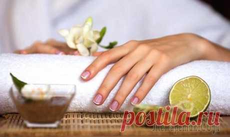 Процедуры омоложения кожи рук в домашних условиях
