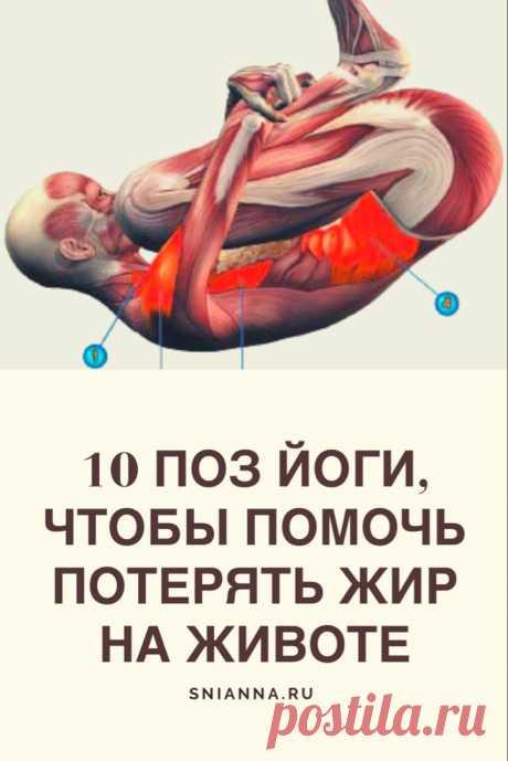 10 поз йоги, чтобы помочь потерять жир на животе. Давайте посмотрим на 10 простых поз йоги, которые помогут справиться с брюшным жиром. ➡️Кликайте на фото, чтобы прочитать статью полностью