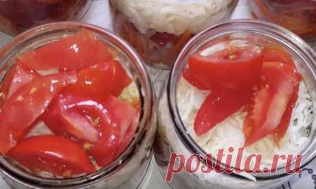 Салат на зиму про запас: вкуснее соленых огурцов и помидор
