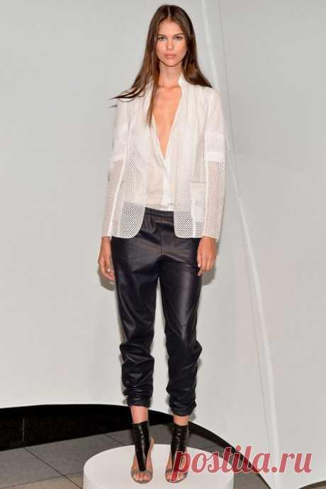 Новая коллекция Эли Тахари сезона весна-лето 2014 на Неделе моды в Нью-Йорке