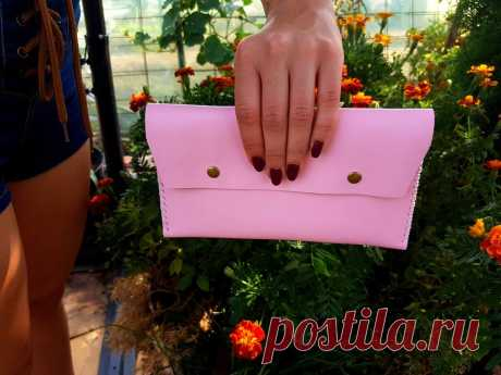 Leather wallet Coupon Organizer Leather Clutch Coupons Budget Clutch O – GORIANI
