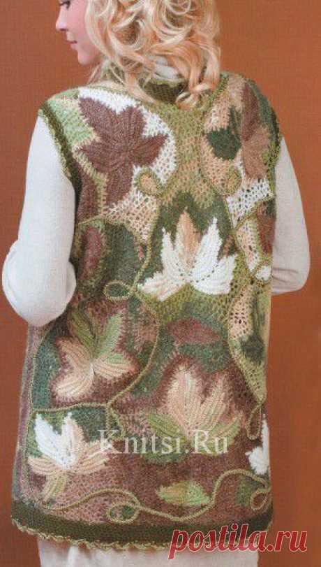 Vest. Knitting for women \/ Vests \/ Hook
