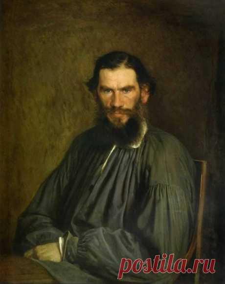 И.Н. Крамской. Лев Николаевич Толстой.  1873 г.