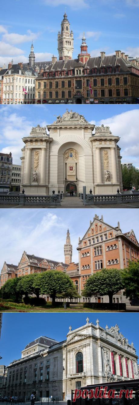 Лилль - город Французской Фландрии