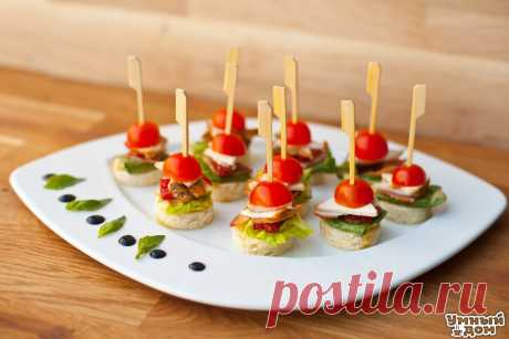 10 MOST TASTY RECIPES of the CANAPE! Keep to prepare everything!
