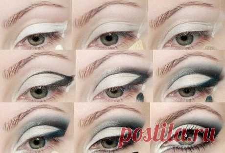 Фото-урок макияжа глаз