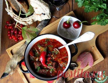 Охотничий суп – кулинарный рецепт