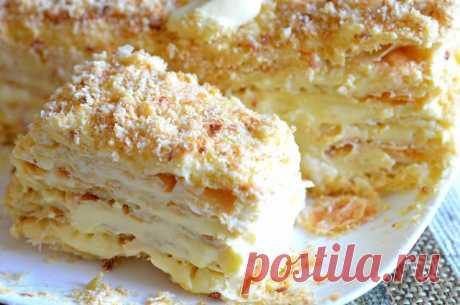 """Самый популярный торт """"Наполеон"""" - вкусные и оригинальные рецепты приготовления."""