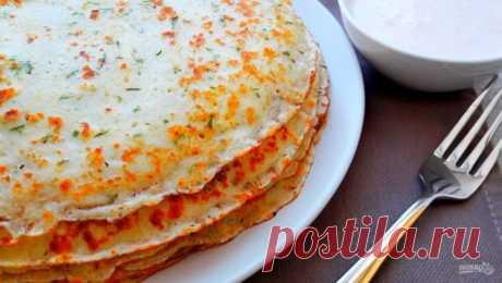 Рецепт сырных блинов - пошаговый рецепт с фото на Повар.ру