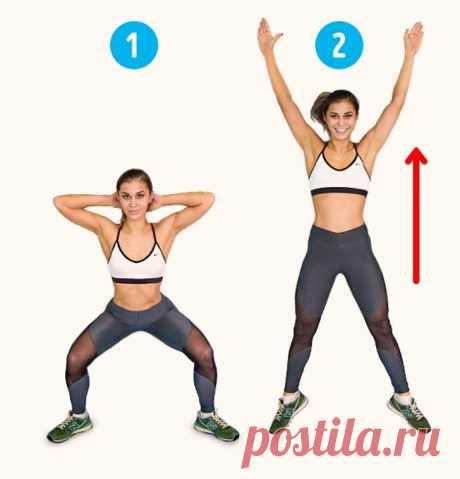 6 упражнений, которые помогут уменьшить целлюлит за 2 недели | Диеты со всего света
