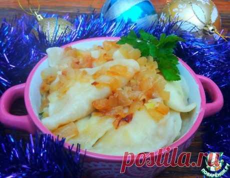 Вареники с картофелем и творогом – кулинарный рецепт