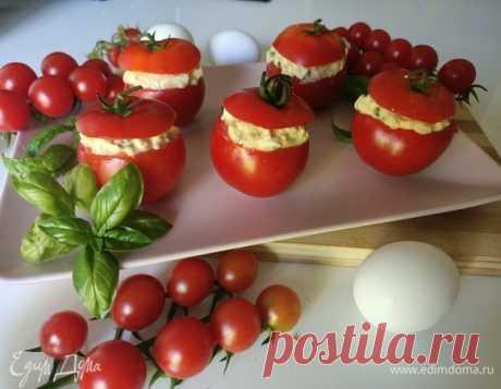 Фаршированные помидоры с тунцом рецепт 👌 с фото пошаговый