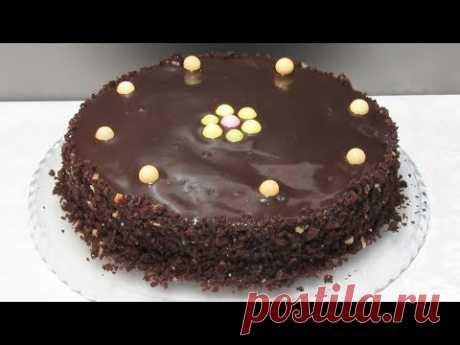Постный торт на скорую руку - это просто ФАНТАСТИКА!!! В нем идеально сочетается постный бисквит на воде, домашнее варенье и постная шоколадная глазурь. Дава...