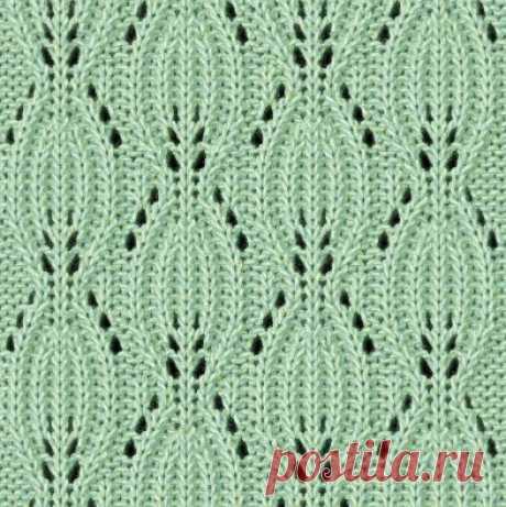 Интересные и красивые узоры для вязания спицами