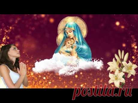 Divinely beautiful song prayer to Blessed Virgin Mary