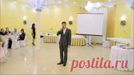 Гость спел на свадьбе в Элисте. Ведущий был в шоке!!!