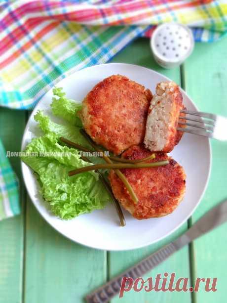 Биточки картофельно-мясные рецепт с фотографиями