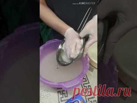 СУПЕР масса для лепки. 100% прочность. Папье-маше - YouTube