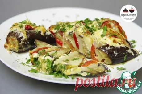 """Баклажаны с овощами под сметанным соусом """"Хит сезона"""" - ууу, как же это обалденно вкусно!"""