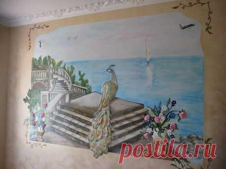 роспись и барельеф