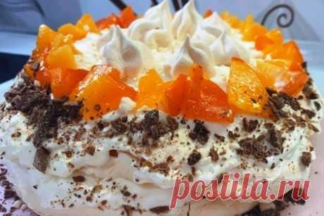 Меренговый торт – пошаговый рецепт с фотографиями