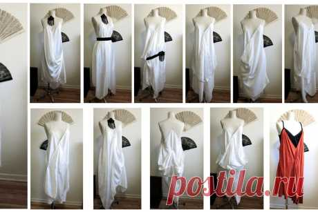 Turn 3 Silk Scarves and 3 Seams Into a 1920s Style Handkerchief Dress : 7 Steps (with Pictures) - Instructables