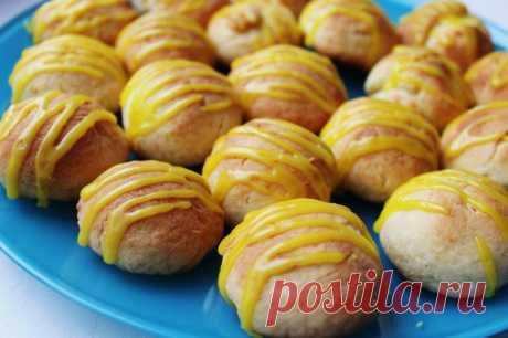 Творожно-лимонное печенье — Sloosh – кулинарные рецепты