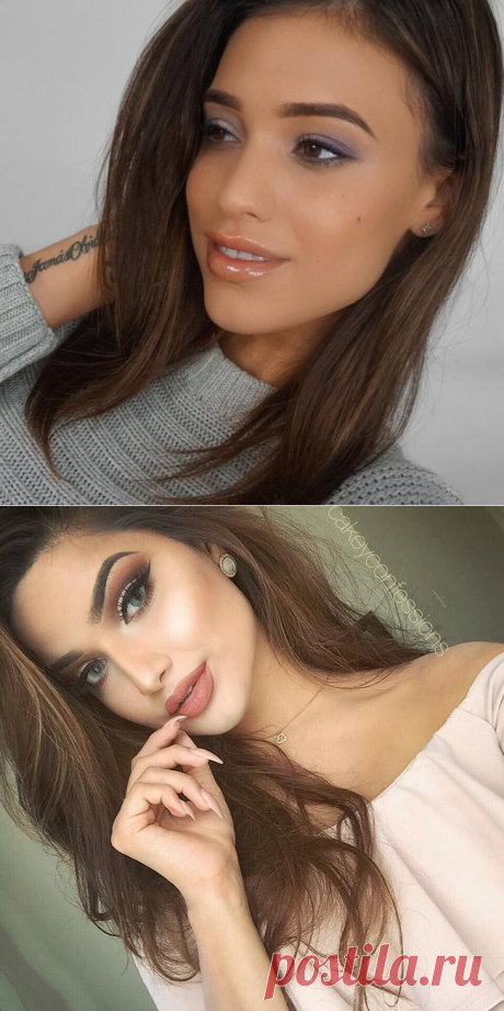 35 ideas of a make-up for all cases of life