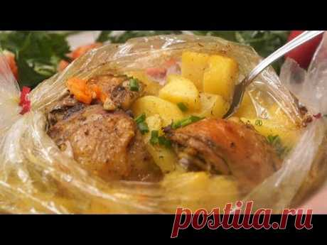 """Dinner without fuss of """"Хозяйка отдыхает""""! All family will fall in love with this dish!"""