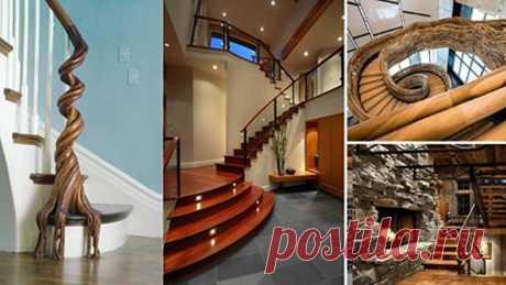 20 деревянных лестниц для загородного дома, ради которых можно построить целый дом. Это просто фантастика! В некоторых домах бывает два и даже более этажей. В этом случае такому дому никак не обойтись без хорошей лестницы.