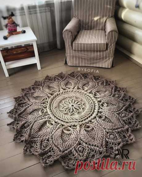 Очередной роскошный коврик.