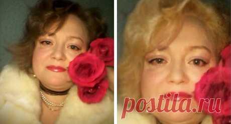 Как Бы Ты Выглядела В Качестве Горячей Блондинки? - Opossum Sauce